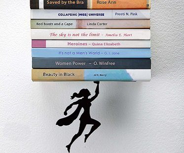 Wonder Woman Floating Bookshelf