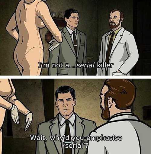 archer-avoid-people-serial-killer
