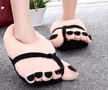 big feet slippers