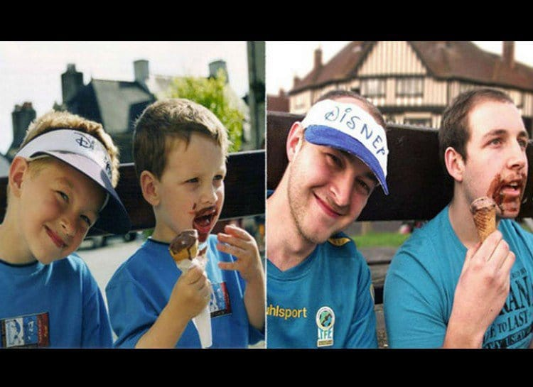 childhood-photos-recreated-ice-cream