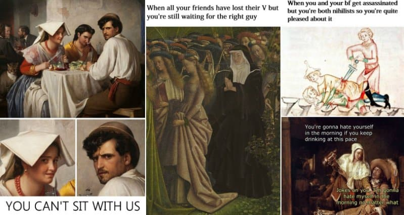 13 Hilarious Classical Art Memes You Need To See