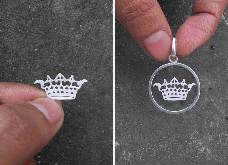 crown papercut