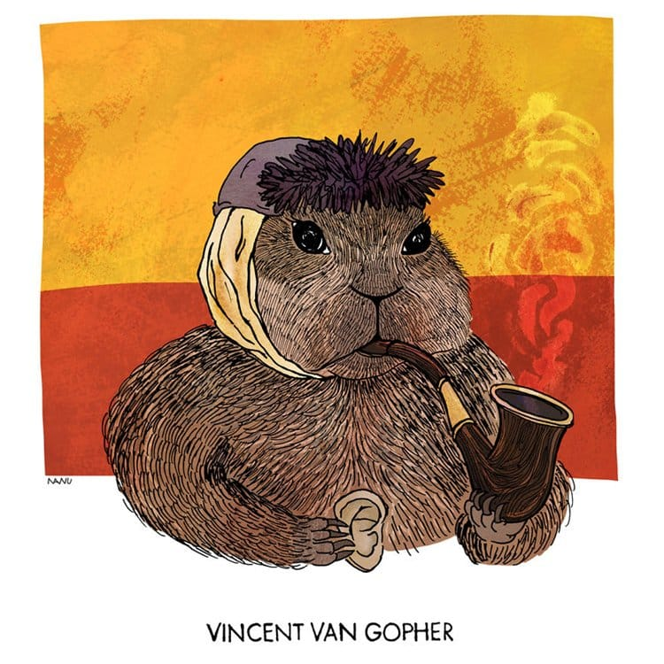 famous-animals-in-art-history-gopher