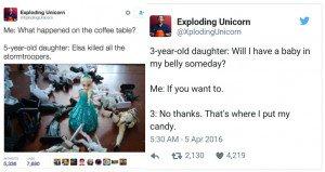 funny kid tweets