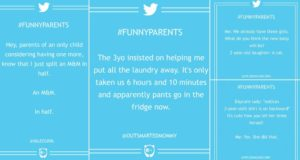 funny parent tweets