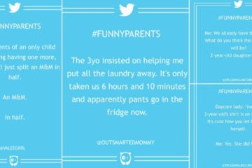 funny parent tweets