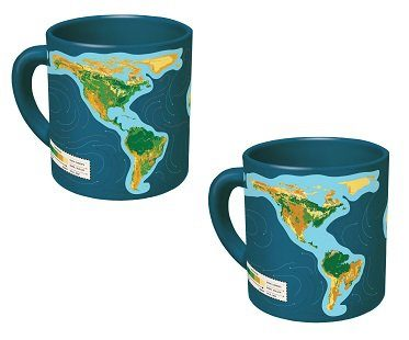 global warming heat changing mug
