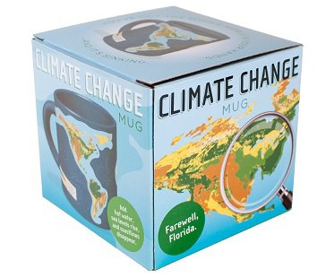 global warming heat changing mug box