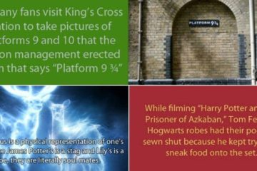 harry potter facts part one