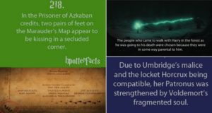harry potter facts part two