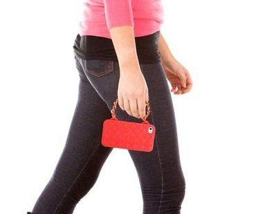 iPhone purse case