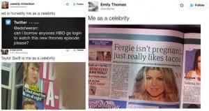 me as a celebrity