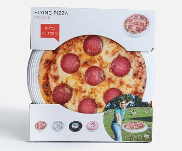 pizza flying disc frisbee