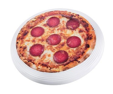 pizza flying disc toy