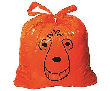 space hopper trash bags orange