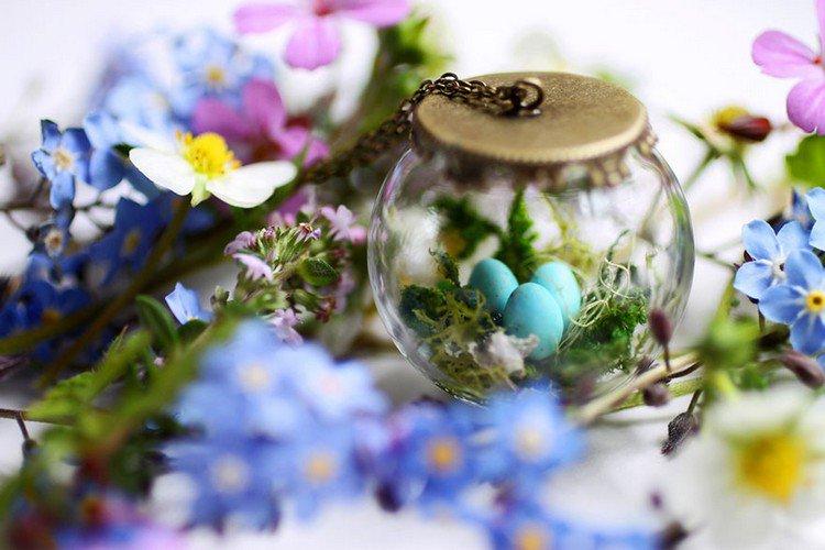 tiny egg terrarium