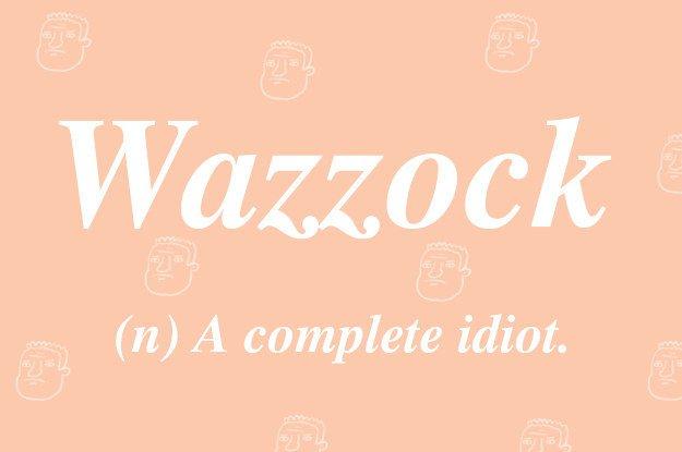 wazzock-british-words
