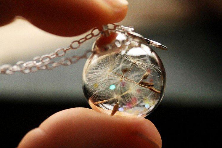 wish ball pendant