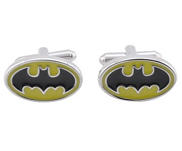 Batman Cufflinks logo