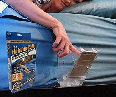 Bedside Cell Phone Holder clip