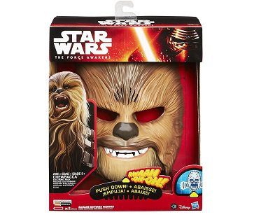 Chewbacca Electronic Mask star wars box