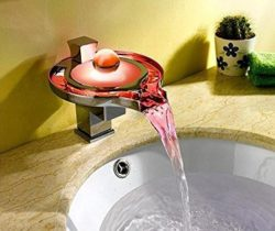Color Changing Waterfall Faucet