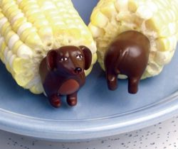 Dachshund Corn Holders picks