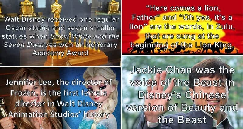 10 Interesting Disney Facts You May Not Have Known