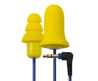 Ear Plug Earphones yellow