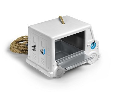Food Truck Bird Feeder white