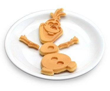 Frozen Olaf Waffle Maker breakfast
