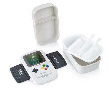 Game Boy Style Lunch Box food
