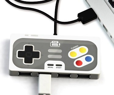 Game Controller USB Hub ports