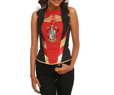 Harry Potter Gryffindor Corset