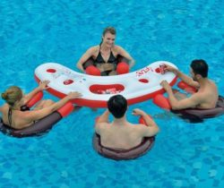 Inflatable Pool Bar Set