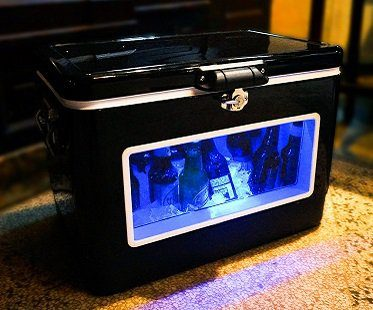 LED party cooler