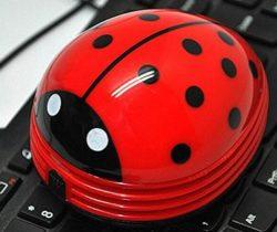 Ladybug Desktop Vacuum keyboard