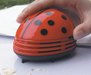 Ladybug Desktop Vacuum