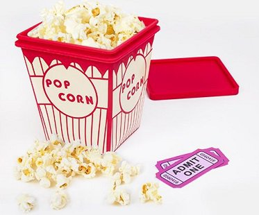 Microwave Popcorn Container cooker