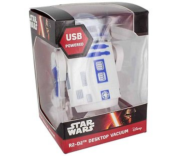 R2-D2 Desktop Vacuum box
