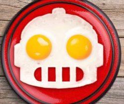Robot Egg Mold