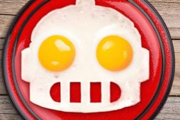 Robot Egg Mold
