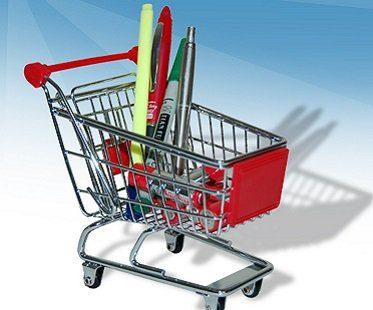 Shopping Trolley Desk Tidy
