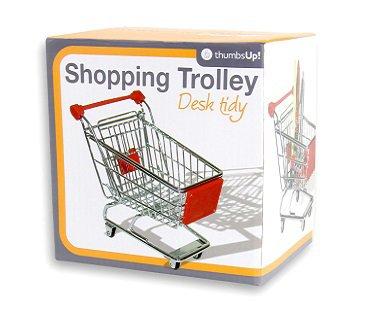Shopping Trolley Desk Tidy box