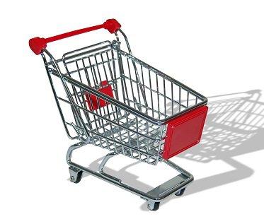 Shopping Trolley Desk Tidy mini