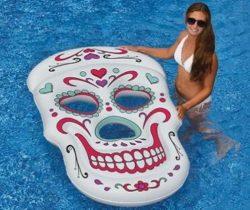 Sugar Skull Pool Float