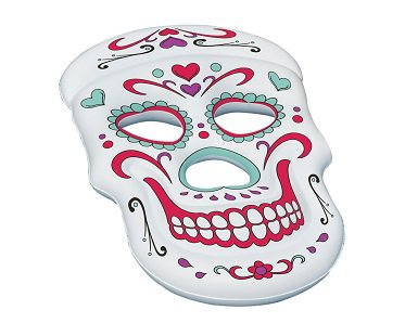 Sugar Skull Pool Float inflatable