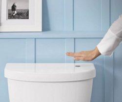 Touchless Toilet Flush Kit