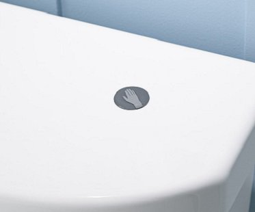 Touchless Toilet Flush Kit hand