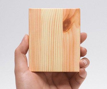 Wood Piece Memo Pad piece